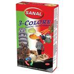 مکمل مولتی ویتامین سانال با طعم ماست و هویچ و سبزیجات مخصوص جوندگان 45 گرمی
