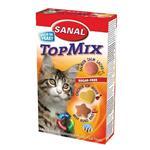 مکمل سانال مخصوص گربه به همراه مولتی ویتامین مدل تاپ میکس 50 گرمی