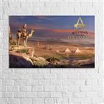 تابلو دیواری پاتیلوک طرح Assassins Creed مدل 1530021