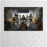 تابلو دیواری پاتیلوک طرح Assassins Creed مدل 1530022