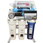 تصفیه آب هوشمند 9 مرحله ای نانو فیلتراسیون - اکسیژن ساز - قلیایی ساز - املاح معدنی - اسمز معکوس مدل RO-BRAIN-SN177