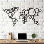 تابلو هوم لوکس طرح نقشه حبابی