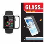 محافظ صفحه نمایش شیشه ای Hard and thick تمپرد مدل فول چسب مناسب اپل واچ سایز 38 میلی متر