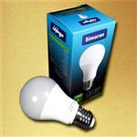 لامپ LED حباب دار مات سیماران 9 وات مدل آفتابی