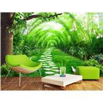 کاغذ دیواری سالسو طرحA-green road