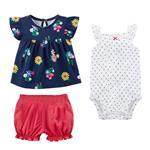 ست لباس نوزادی کارترز مدل 697