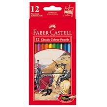 مداد رنگي 12 رنگ Faber-Castell مدل کلاسيک کد 115852