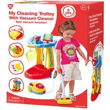 Play Go Cleaning Trolly 3465 Toys Doll House