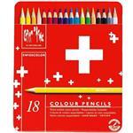 مداد رنگی 18 رنگ کارن داش سری سوییس کالر مدل 1285718