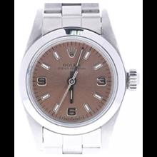 ساعت مچی زنانه رولکس اتوماتیک Rolex Oyster Perpetual automatic-self-wind womens Watch 176200