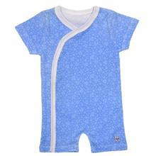 لباس سرهمي هشداردهنده تب بيبي گلو مدل Blue
