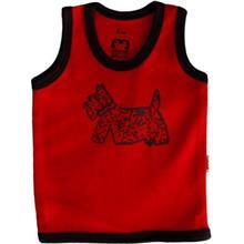 زیرپوش رکابی نوزادی آدمک مدل Dog