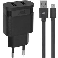 Riva Case Rivapower 4123 Wall Charger With microUSB Cable