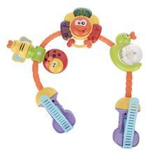 اسباب بازی کالسکه بلو باکس مدل Rainbow Stroller Activity