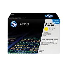 (HP Original Laserjet Toner Cartridge Yellow 643A (Q5952A