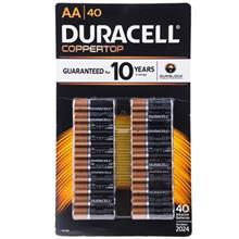 Duracell Duralock Alkaline AA Battery Pack Of 40