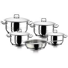 Hascevher Gastro 9 Pieces Cookware Set