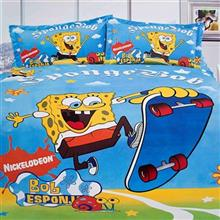 Dream Skating Spong Bob 1 Persons 3 Pieces Sleep Set