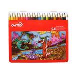 مداد رنگی اونر - بسته 24 رنگ