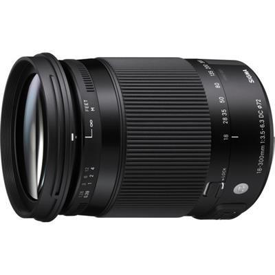 sigma DC 18-300mm f/3.5-6.3 OS HSM lens