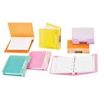دفتر یادداشت B8 قفل دار مدل PAPCO Binder Notebook - NB-627