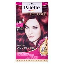 کيت رنگ مو پلت سري Deluxe مدل Intensive Red شماره 888-6