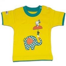 تی شرت اسپرت آستین کوتاه کوکالو (CoCaLo) طرح فیل