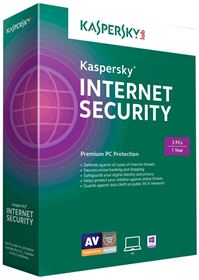 Kaspersky internet secuirty 2015-3user1year