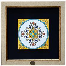 تابلو کاشی هفت رنگ گروه هنری گنجینه میراث طرح شمس کد MK1507