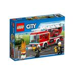 Lego City Fire Ladder Truck 60107 Toys