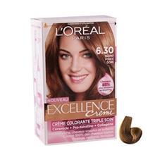 کیت رنگ مو لورآل شماره 6.30 اکسلنس LOreal Excellence Hair Color Kit No 6.30