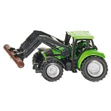 Siku Tractor With Log Grabber Toys