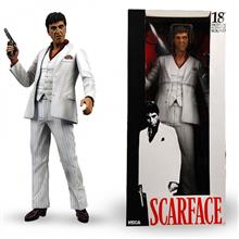 NECA Scarface Tony Montana Action Figure in White Tux