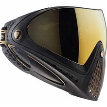 Dye i4 Black Gold Paintball Goggle