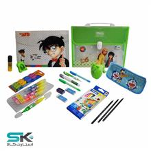 Green Stationary Pack-19 Pcs
