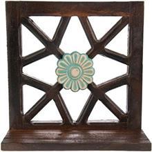 طبقه چوبی گالری اسعدی طرح تک گل 28