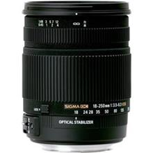 SIGMA 18-250mm f/3.5-6.3 DC OS HSM Camera Lens