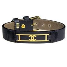 دستبند طلا 18 عیار سیم و گوهر مدل GLP117