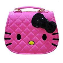 کیف دخترانه کیتی-صورتی پررنگ