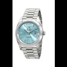 ساعت مچی مردانه رولکس اتوماتیک Rolex Oyster Perpetual Day-Date Automatic Mens Watch 228206IBLDP