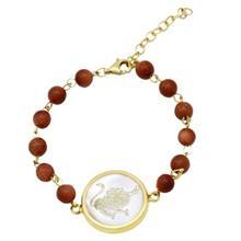 دستبند طلا ماهک مدل MB0127
