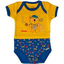Adamak Little Bear Under Button With Short Sleeves