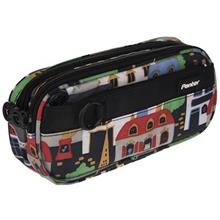 Panter Colorful City Design Pencil Case