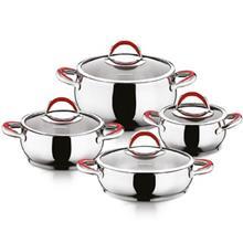 Hascevher Yaca Cookware Set 8 Pieces