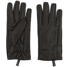 دستکش مردانه چرم مشهد مدل Black R0530
