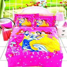 Carina Princess 2 One Person 4 Pieces Bedsheet