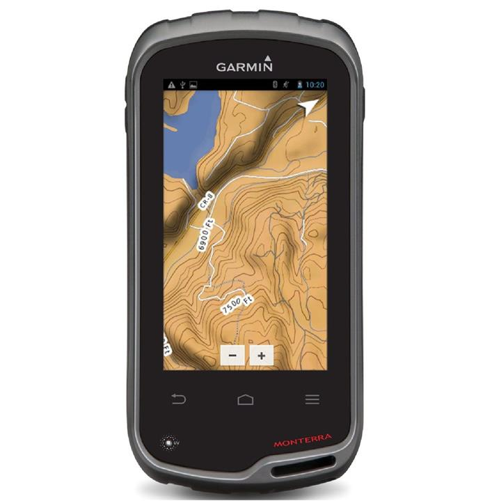 Garmin MONTERRA Worldwide Handheld GPS Navigator
