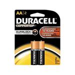 Duracell Plus Power Duralock AA Battery Pack Of 2