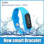 دستبند ورزشی  E06 با صفحه لمسی هوشمند