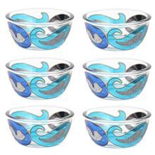 مجموعه ظروف هفت سین شیشه ای گالری انار کد 134115